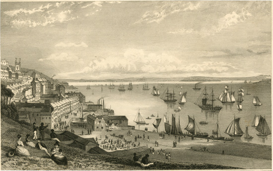 Cove Harbour looking toward Rostellan